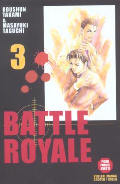 Couverture battle royale tome 3