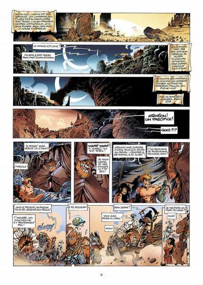 Page 0 lanfeust des étoiles tome 3 - les sables d'abraxar
