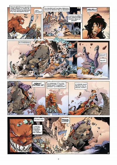 Page 8 lanfeust des étoiles tome 3 - les sables d'abraxar