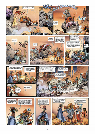 Page 9 lanfeust des étoiles tome 3 - les sables d'abraxar