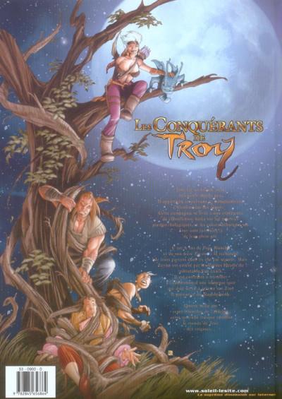 Dos les conquérants de troy tome 1 - exil à port-fleury