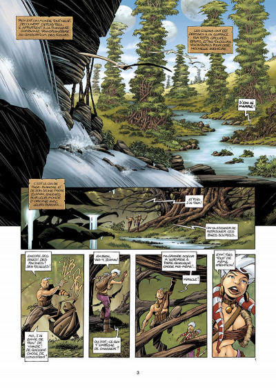 Page 4 les conquérants de troy tome 1 - exil à port-fleury