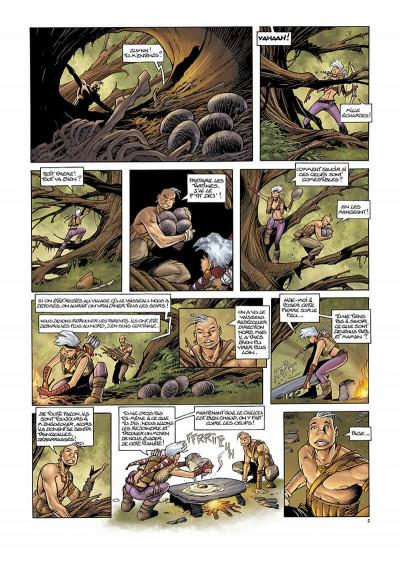 Page 5 les conquérants de troy tome 1 - exil à port-fleury