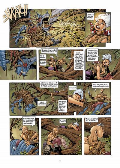 Page 8 les conquérants de troy tome 1 - exil à port-fleury