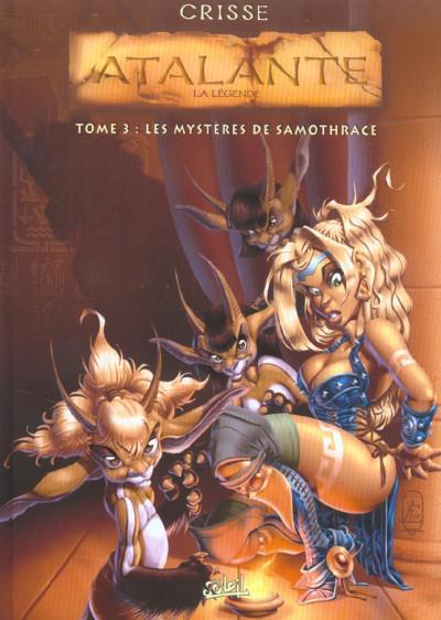 Couverture Atalante tome 3 - les mystères de Samothrace