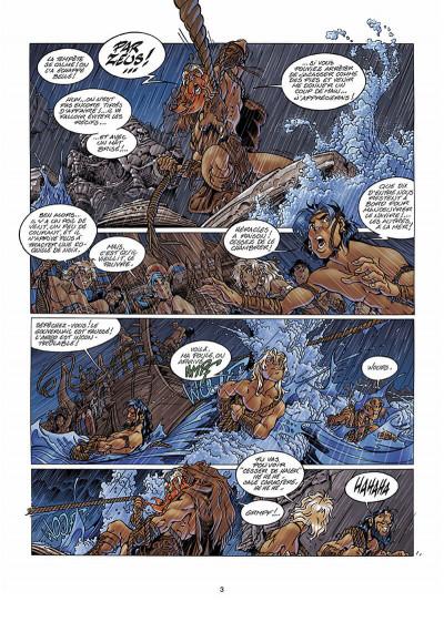 Page 4 Atalante tome 3 - les mystères de Samothrace