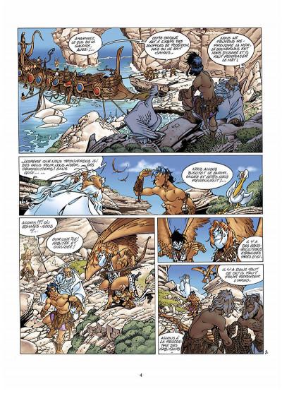 Page 5 Atalante tome 3 - les mystères de Samothrace
