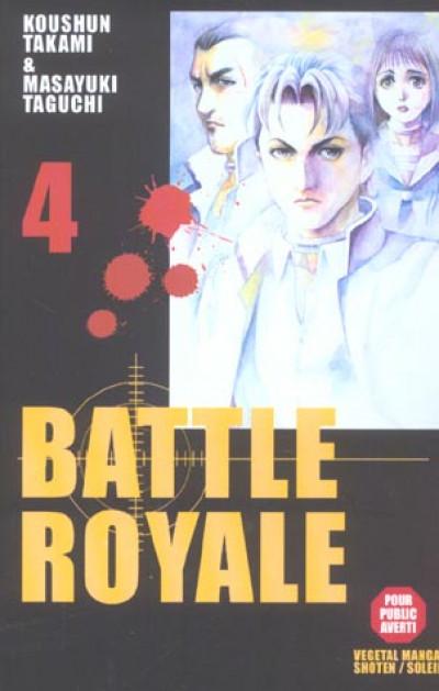 Couverture battle royale tome 4