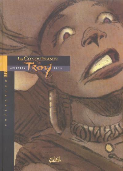 Couverture les conquérants de troy tome 1 - exil fantôme