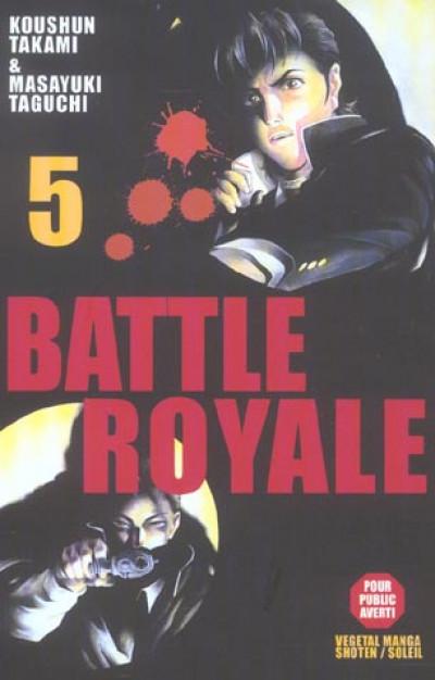 Couverture battle royale tome 5