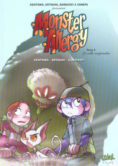 Couverture monster allergy tome 4 - la ville suspendue