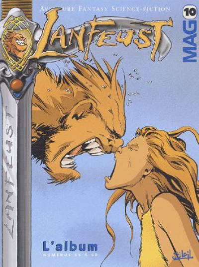 Couverture lanfeust mag - recueil tome 10