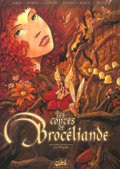 image de Les contes de Brocéliande tome 1 - la dryade