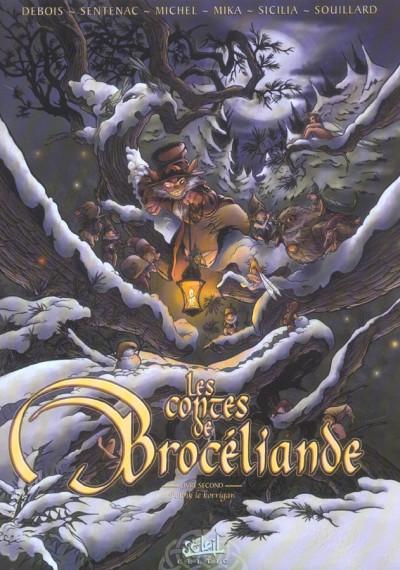 Couverture les contes de broceliande tome 2 - polbik corrigan