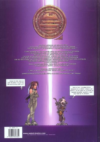 Dos Tessa, agent intergalactique tome 1