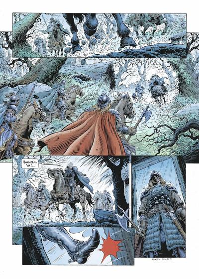 Page 4 légende tome 2 - les forêts profondes