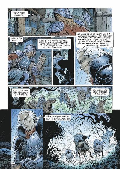Page 5 légende tome 2 - les forêts profondes