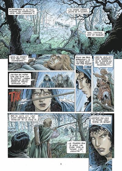 Page 6 légende tome 2 - les forêts profondes