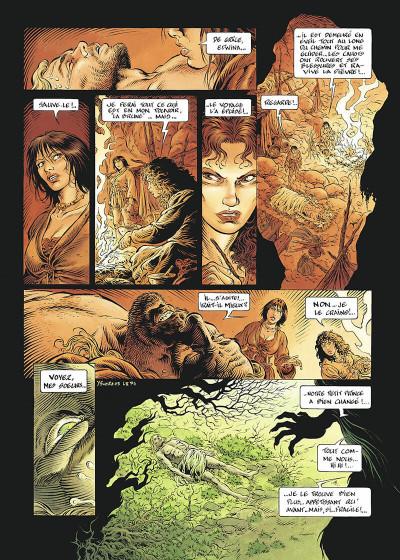 Page 7 légende tome 2 - les forêts profondes