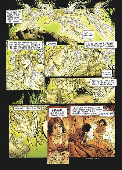 Page 8 légende tome 2 - les forêts profondes