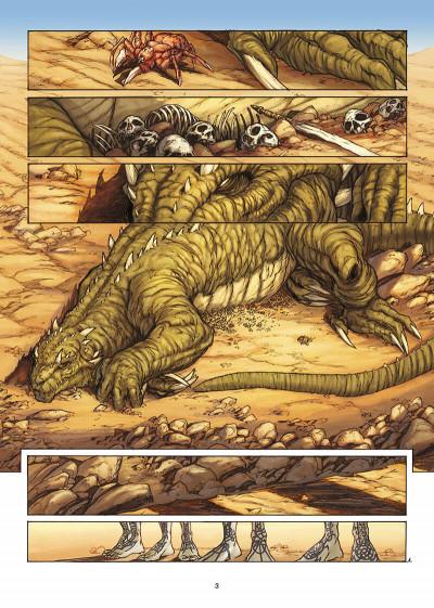 Page 4 la geste des chevaliers dragons tome 3 - le pays de non-vie