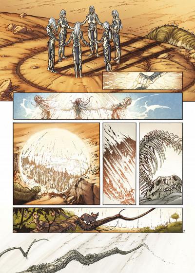 Page 5 la geste des chevaliers dragons tome 3 - le pays de non-vie