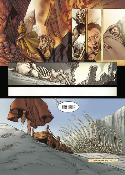 Page 6 la geste des chevaliers dragons tome 3 - le pays de non-vie