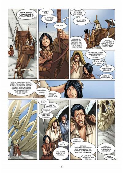Page 7 la geste des chevaliers dragons tome 3 - le pays de non-vie