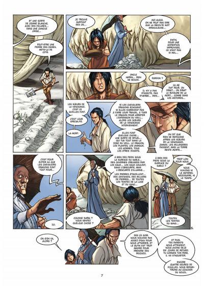 Page 8 la geste des chevaliers dragons tome 3 - le pays de non-vie