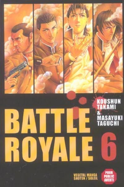 Couverture battle royale tome 6