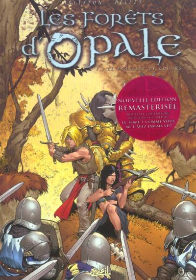 Couverture les forêts d'opale tome 1 - le bracelet de cohars (réédition)