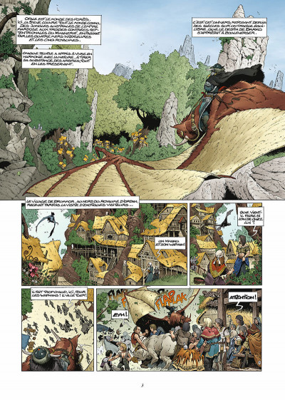 Page 4 les forêts d'opale tome 1 - le bracelet de cohars (réédition)