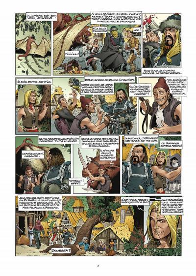 Page 5 les forêts d'opale tome 1 - le bracelet de cohars (réédition)
