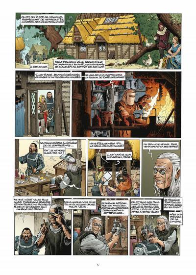 Page 6 les forêts d'opale tome 1 - le bracelet de cohars (réédition)
