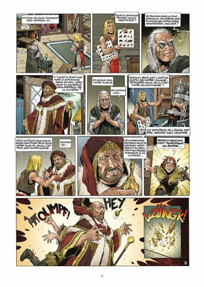 Page 7 les forêts d'opale tome 1 - le bracelet de cohars (réédition)