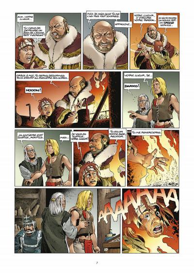 Page 8 les forêts d'opale tome 1 - le bracelet de cohars (réédition)