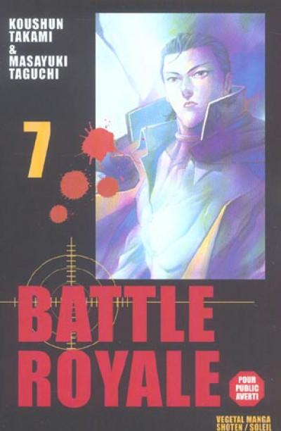 Couverture battle royale tome 7