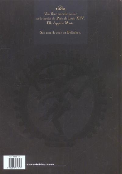 Dos belladone tome 1 - marie