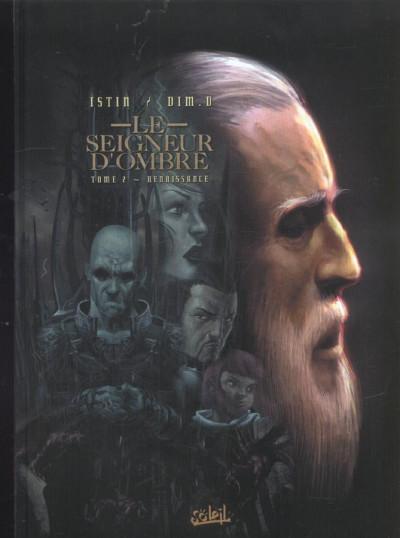 Couverture le seigneur d'ombre tome 2 - renaissance