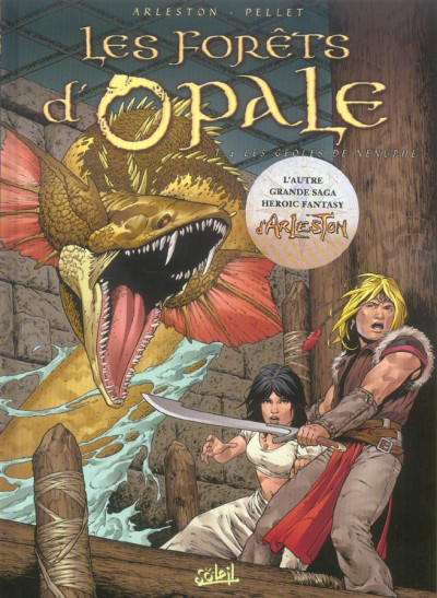 Couverture Les forêts d'opale tome 4