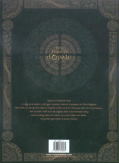 Dos Les forêts d'opale tome 4