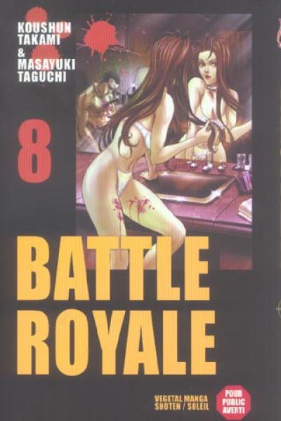 Couverture battle royale tome 8