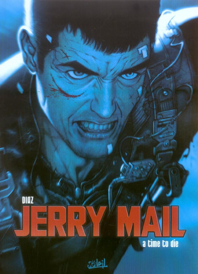 Couverture jerry mail tome 2 - les ombres