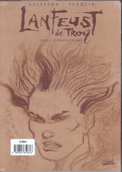 Dos lanfeust de troy tome 4 - le paladin d'eckmul (en noir et blanc)