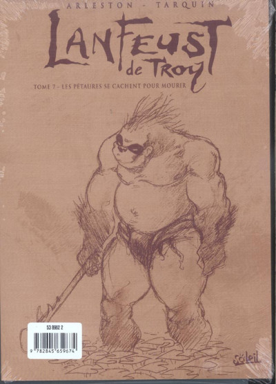 Dos lanfeust de troy tome 7 - les pétaures se cachent pour mourir (noir et blanc)