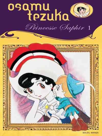 Couverture princesse saphir tome 1