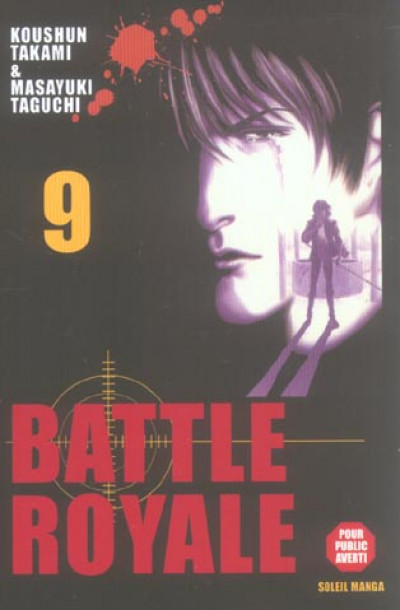 Couverture battle royale tome 9