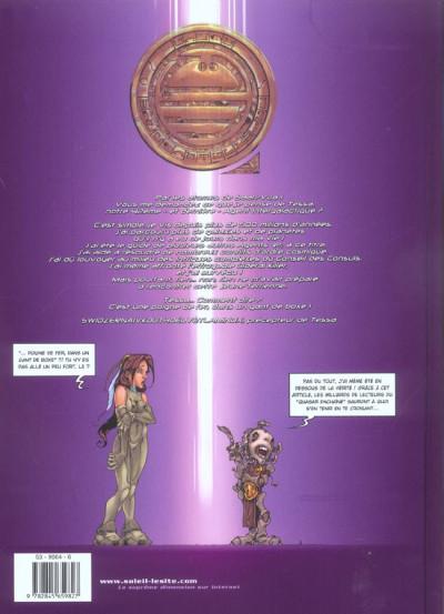 Dos tessa, agent intergalactique tome 2 - les dix dalles du labyrinthe