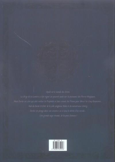 Dos les forets d'opale - tomes 3 et 4 - édition noir et blanc