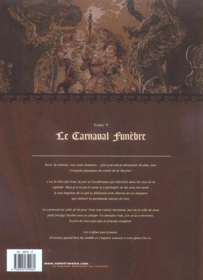 Dos mortepierre tome 5 - le carnaval funèbre